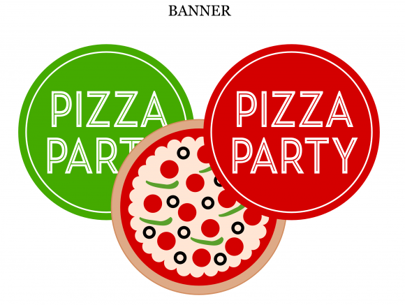 Pizza Party Invitations Printable