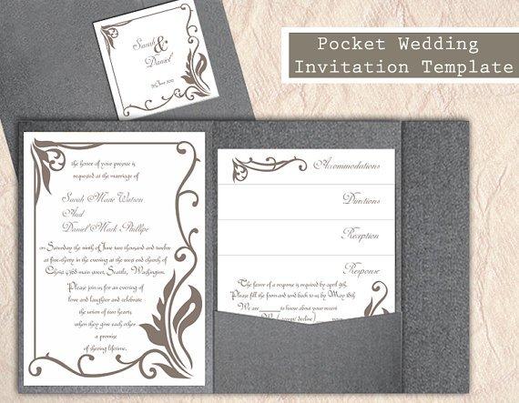 Pocket Invitation Kits Uk