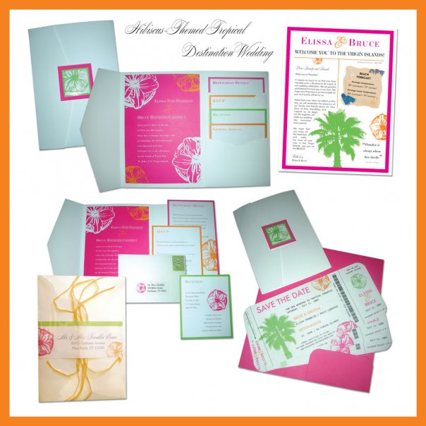 Pocket Wedding Invitation Ideas
