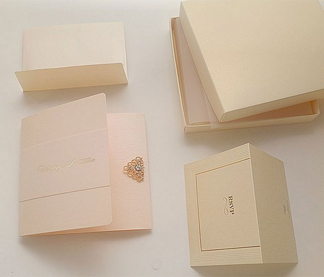 Pocket Wedding Invitation Kits Uk