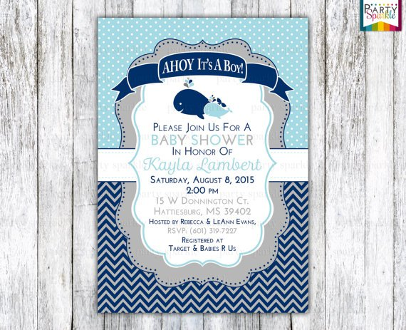 Polka Dot Invitations Blanks