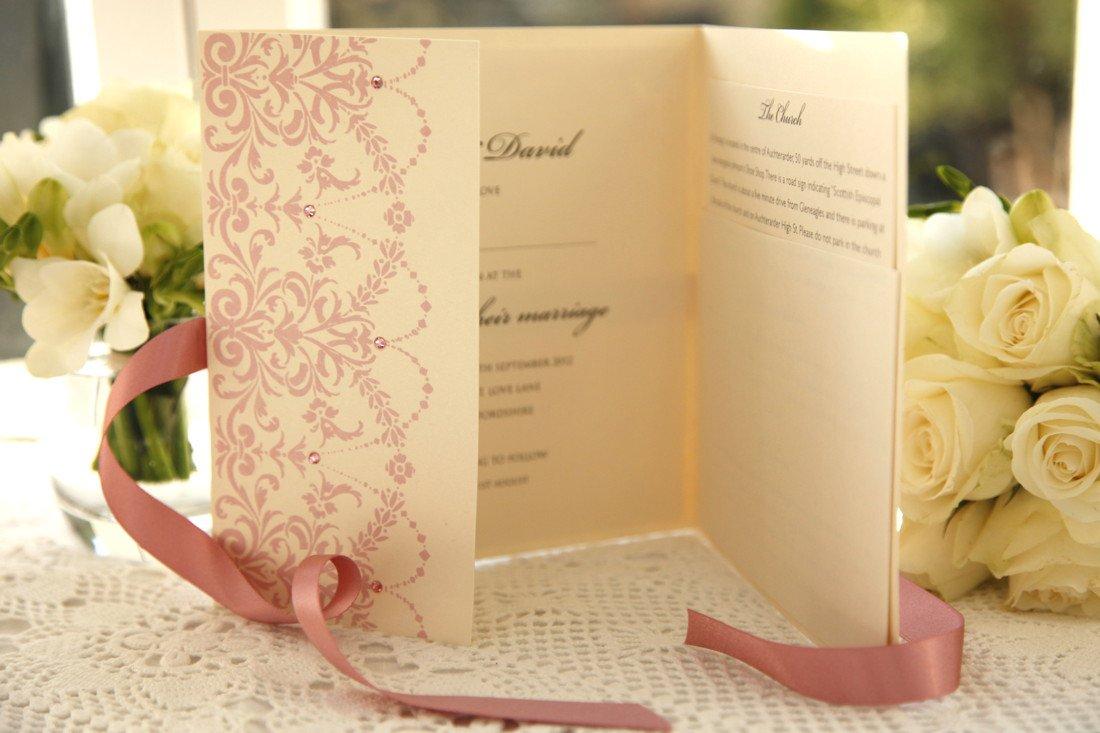 Post Wedding Celebration Invitations Uk
