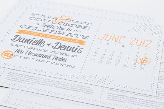 Postcard Wedding Invitations Ideas