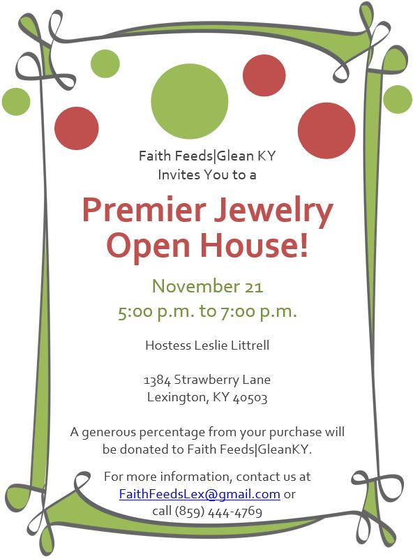 Premier Designs Jewelry Invitation Templates