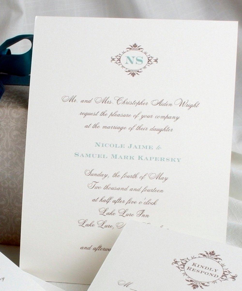 Pretty Wedding Invitations