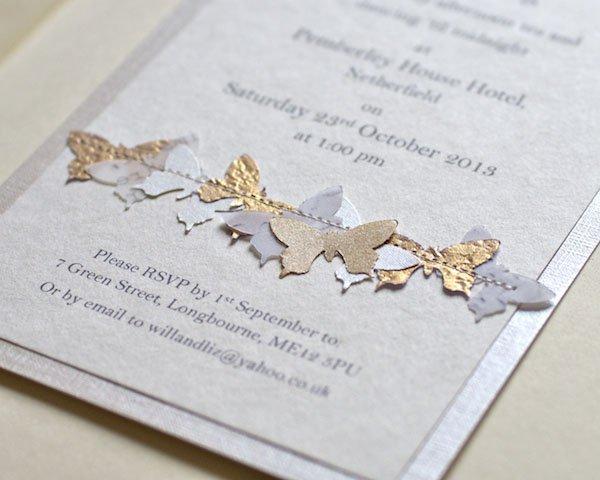 Pretty Wedding Invitations Uk