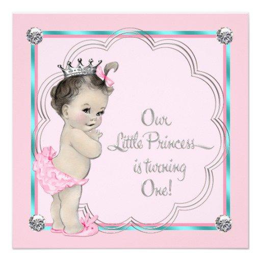 Princess Ball Birthday Invitations