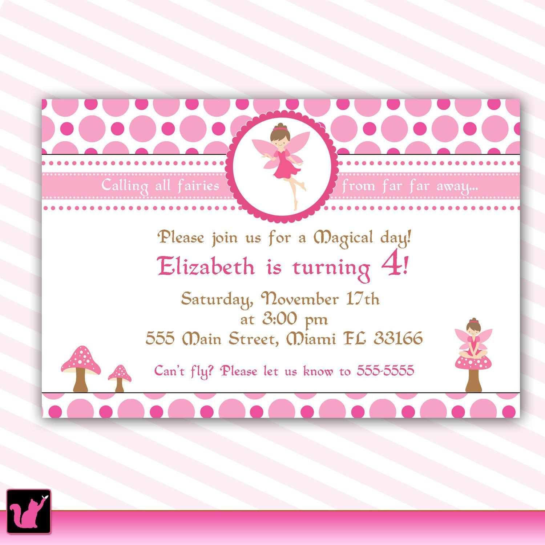 Princess Birthday Invitation Cards Free