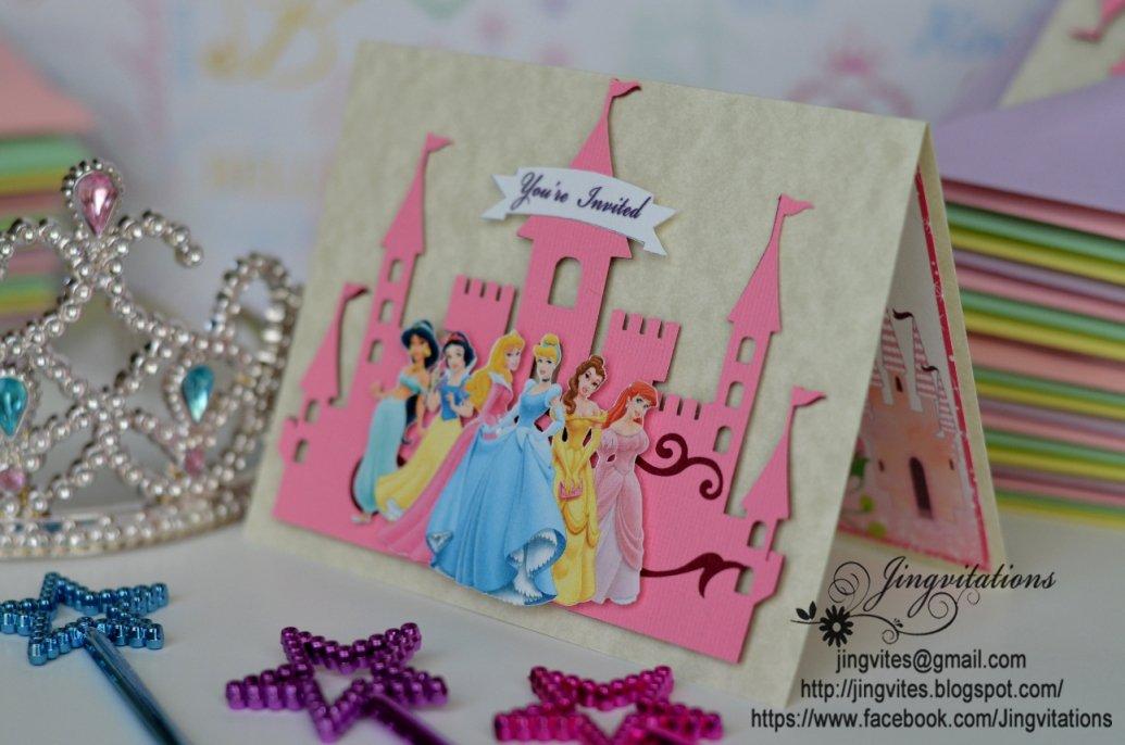 Princess Crown Baby Shower Invitations