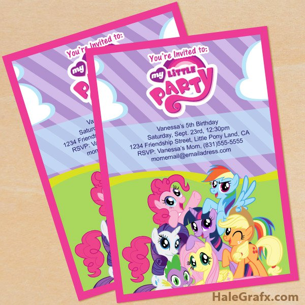 Print Out Invitation Cards