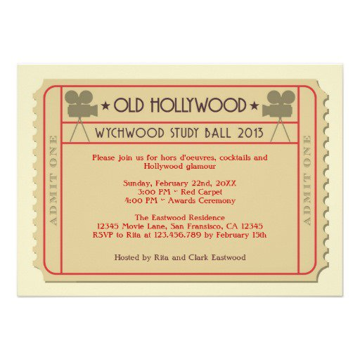 Printable Award Ceremony Invitations