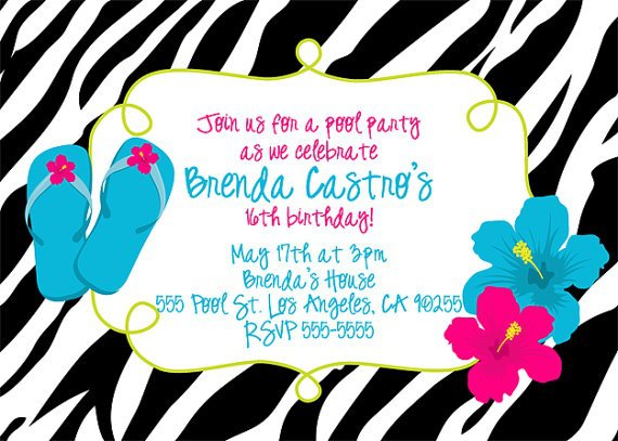 Printable Birthday Invitations For Tweens Free