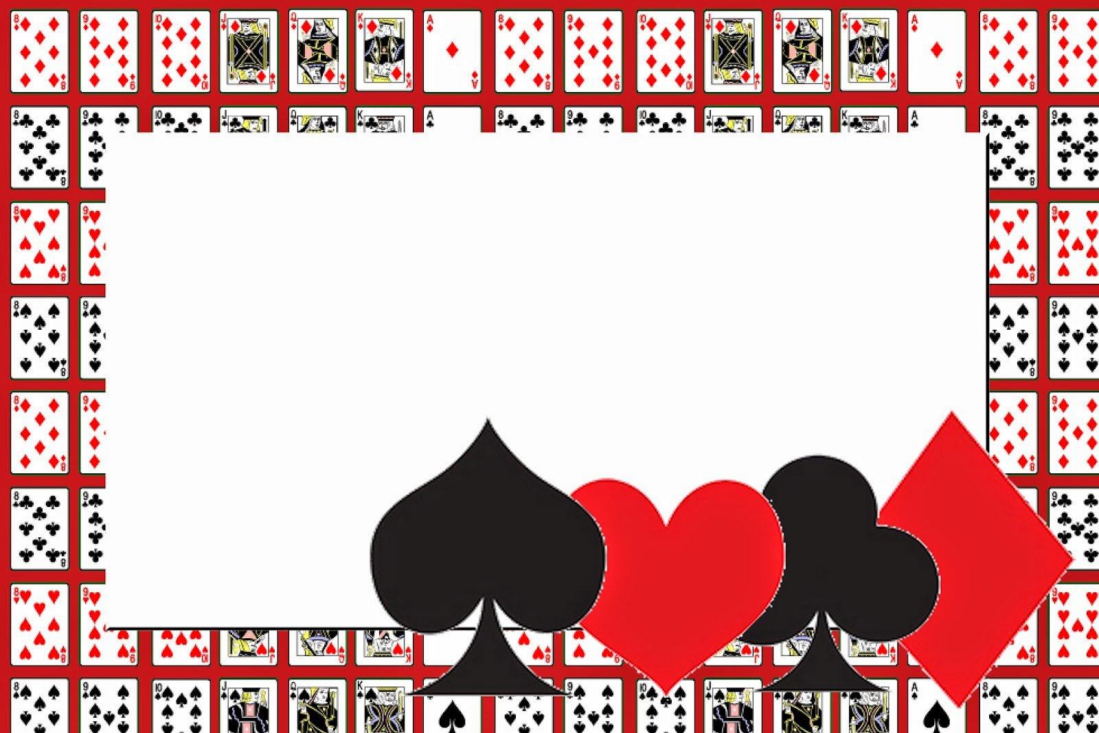 Printable Casino Invitations