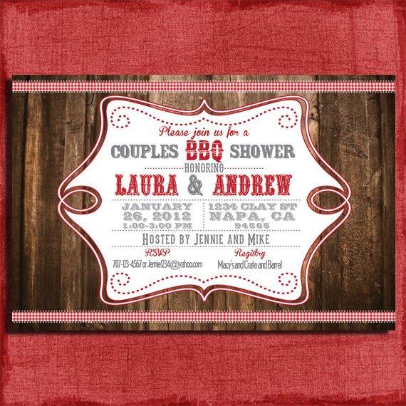 Printable Couples Wedding Shower Invitations