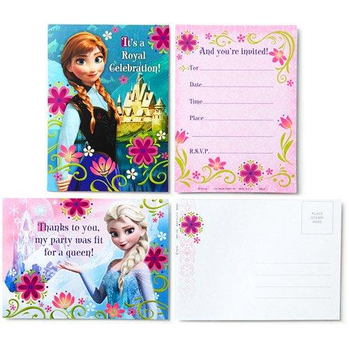 Printable Disney Frozen Fever Invitations