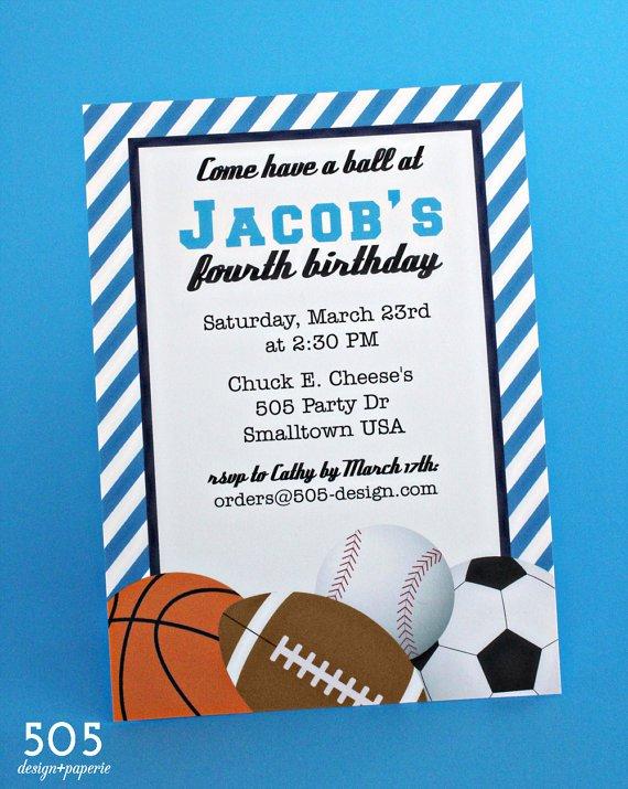 Printable Soccer Birthday Invitations Background