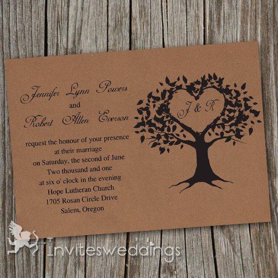 Printable Vintage Wedding Invitations Cheap