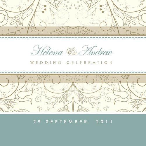 Printable Wedding Invitation Stationery
