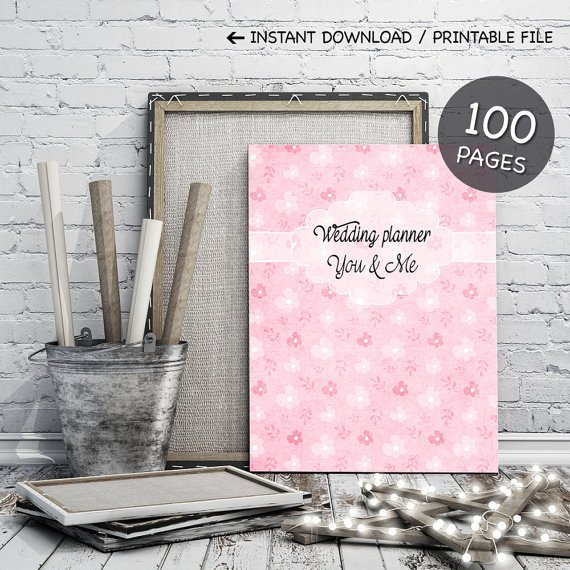 Printable Wedding Planner Kit