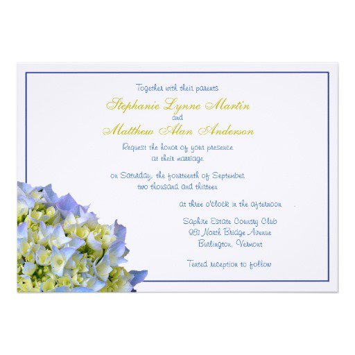 Printing 5x7 Invitations