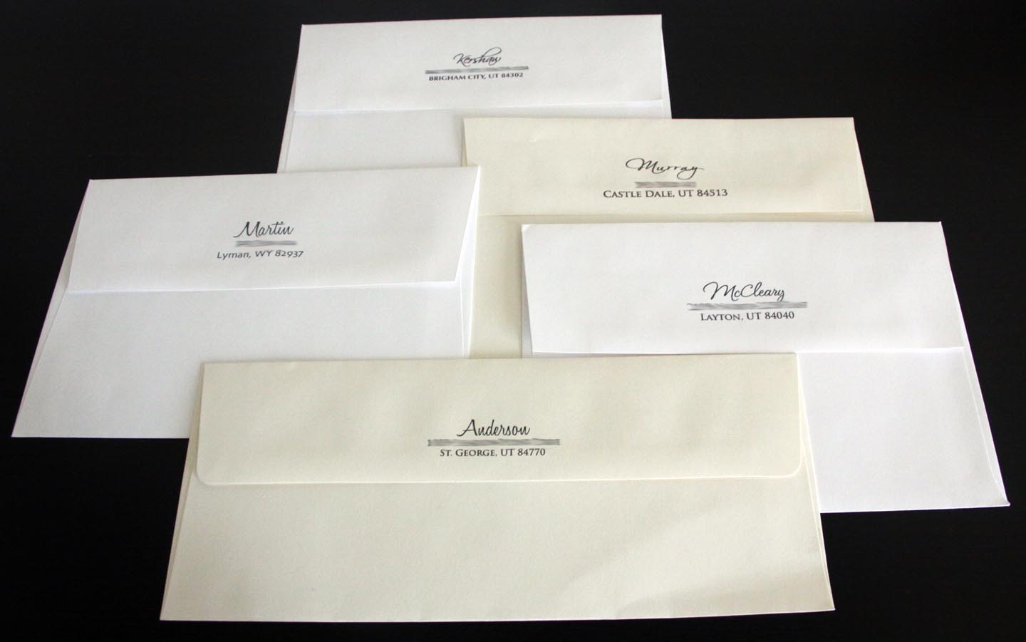 Printing Wedding Invitation Envelopes At Home