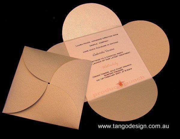 Product Launch Invitation Card Design