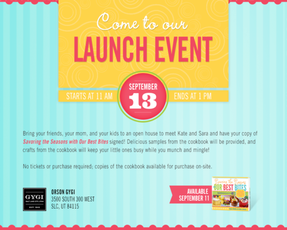 Product Launch Invitation Card Sample