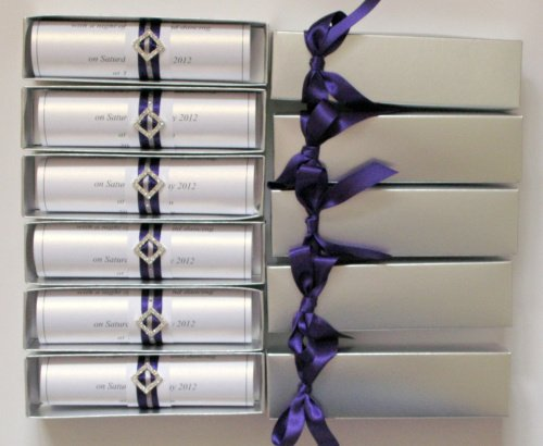 Purple And Silver Wedding Invitations Uk