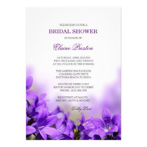 Purple Wedding Invitation Sets