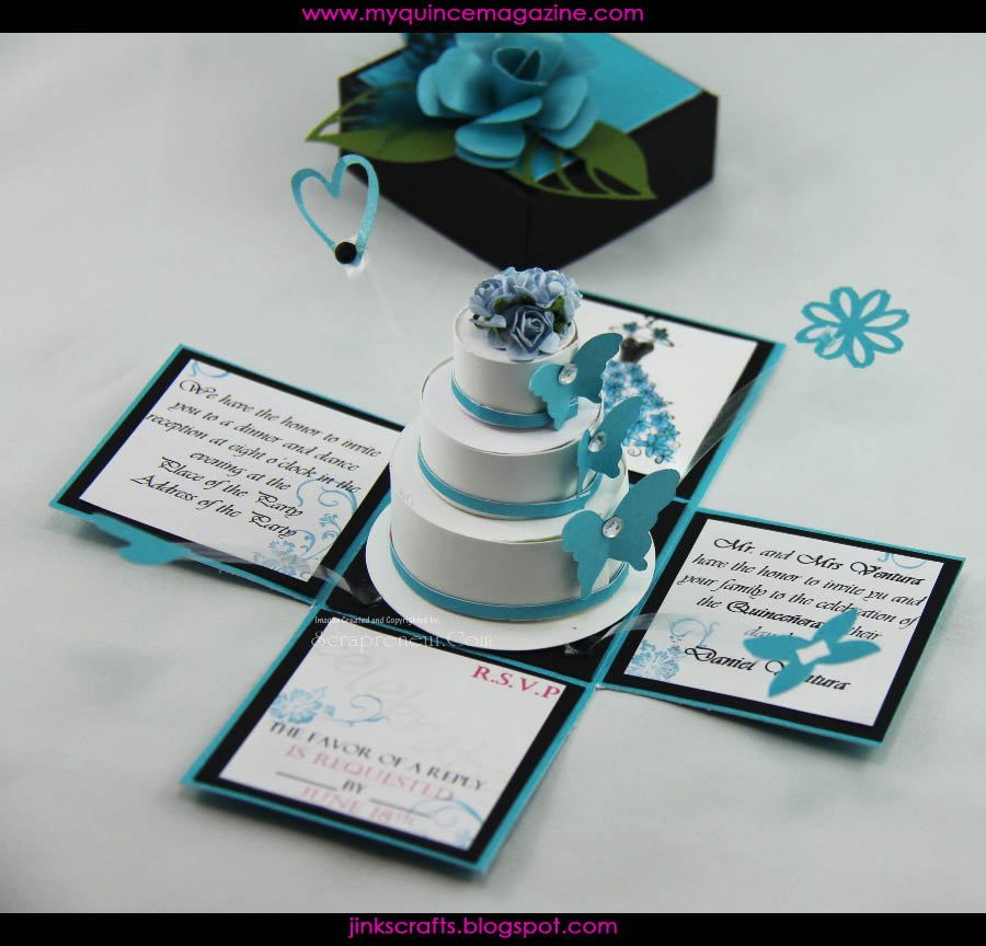 Quince Invitations In A Bottle