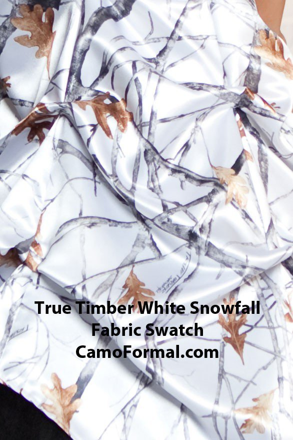 Realtree Snow Camo Wedding Invitations