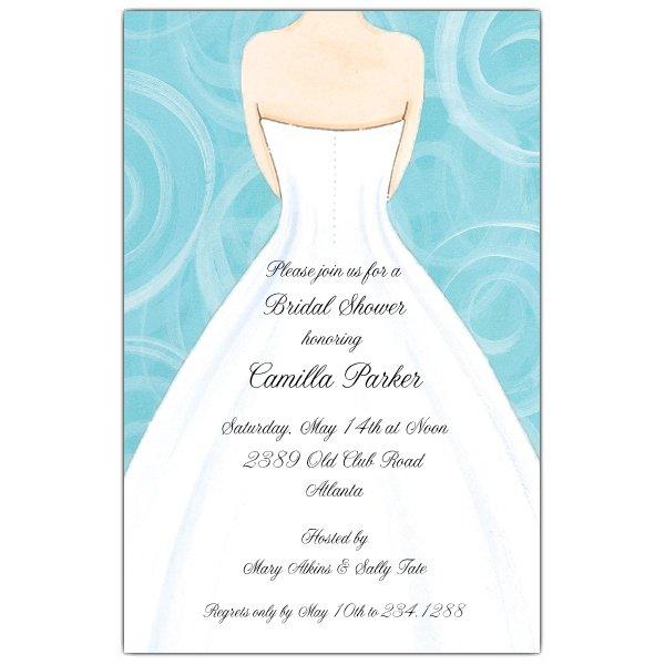 Red Bridal Invitations