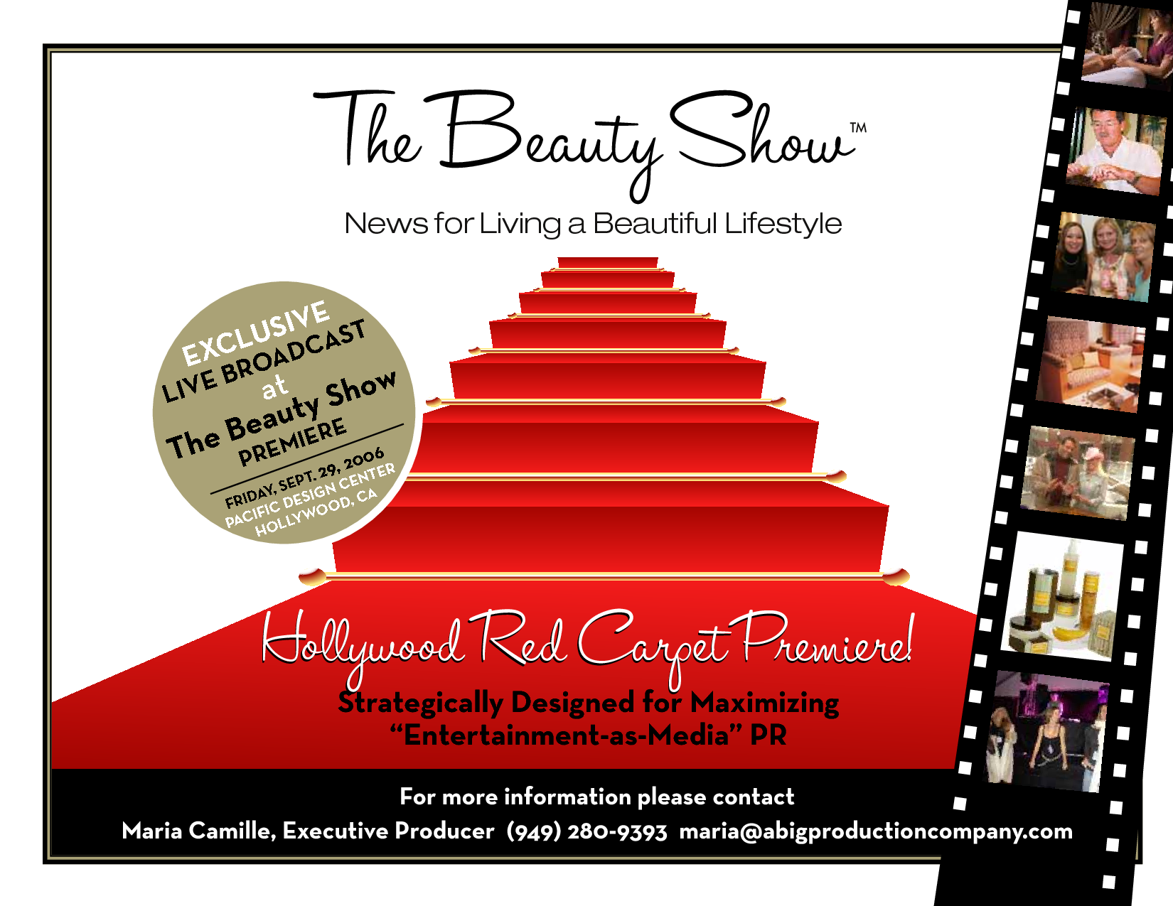 Red Carpet Party Invitations Templates Free