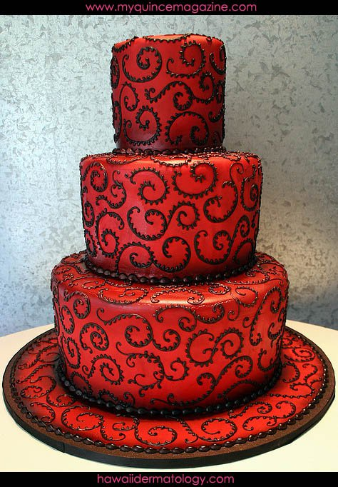Red Quince Invitations