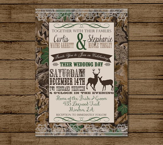 Redneck Wedding Invitations