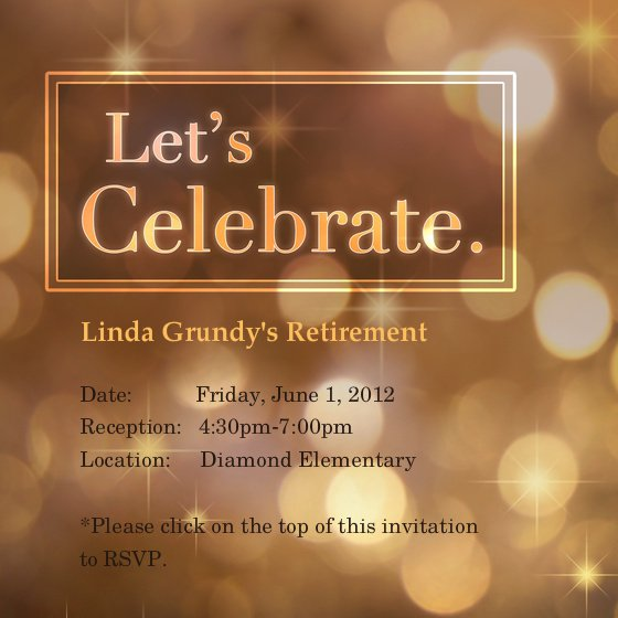 Retirement Party Invitation Templates Free
