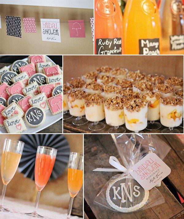 Rustic Bridal Brunch Invitations