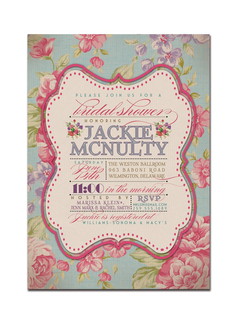 Rustic Bridal Shower Invitations Cheap