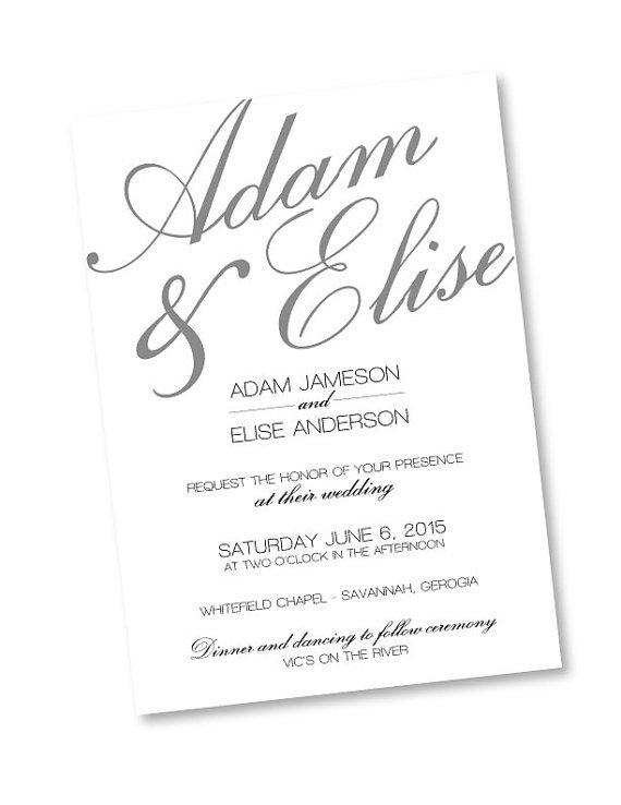 Rustic Wedding Invitation Templates Photoshop