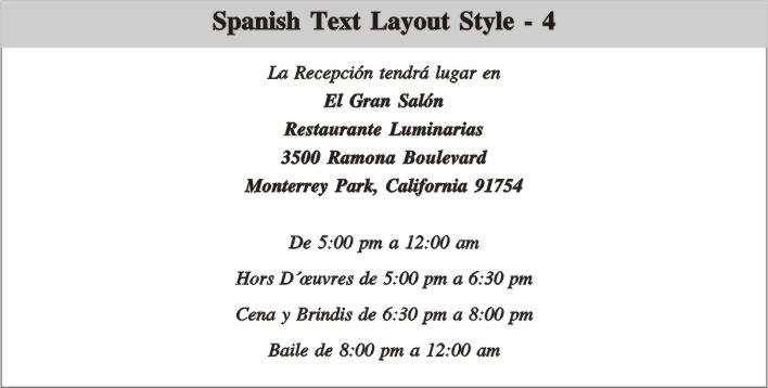 Sample Birthday Invitation Wording In Spanish