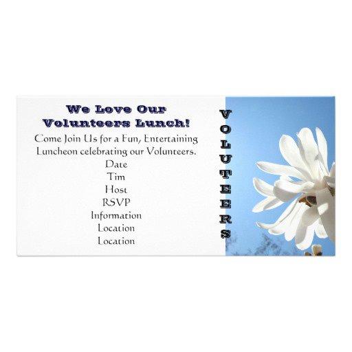 Sample Volunteer Appreciation Invitations