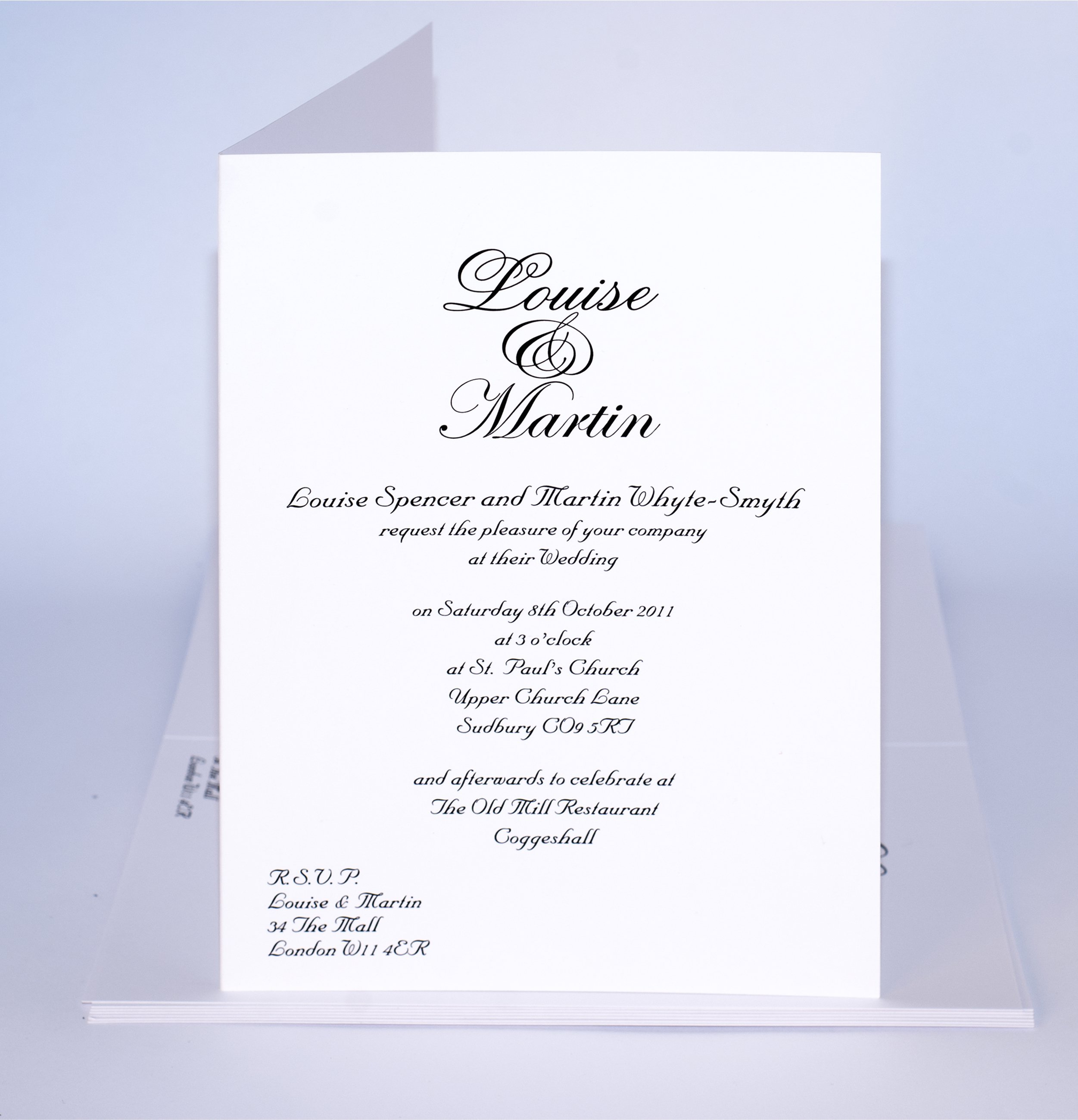 Sample Wedding Invitation Cards Templates