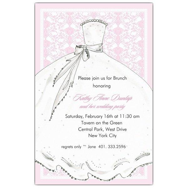 Sample Wording Bridesmaid Luncheon Invitations