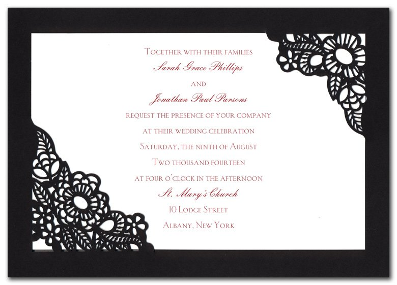 Samples Of Spanish Invitations