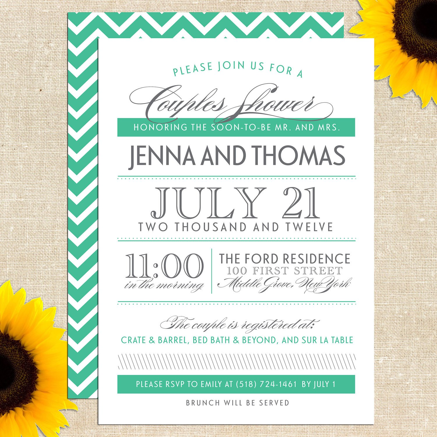 Sayings For Couples Shower Invitations