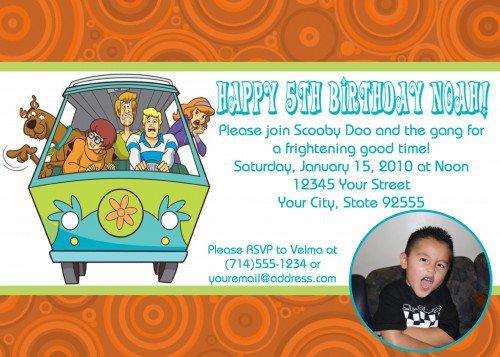 Scooby Doo Invitation Ideas