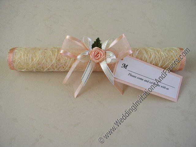 Scroll Wedding Invitations Usa