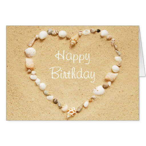 Seashell Invitations Birthday