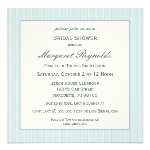 Seashell Shower Invitations