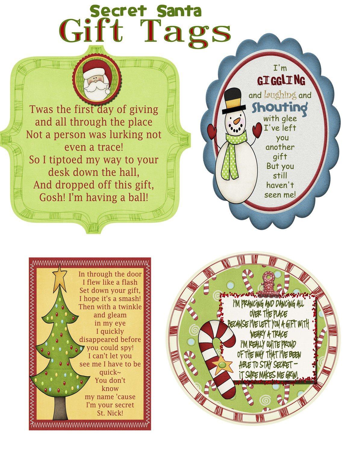 Secret Santa Invitation Poem